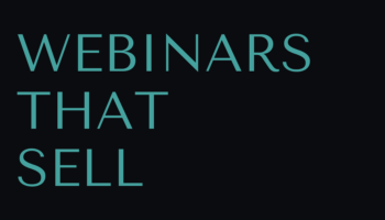 Want to pitch and sell with webinars? Start with this FREE training